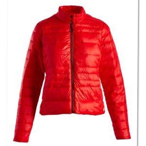 Vero Moda Jackets & Coats - VERO MODA ALLEGRA SORAYA RED PUFFER COAT L